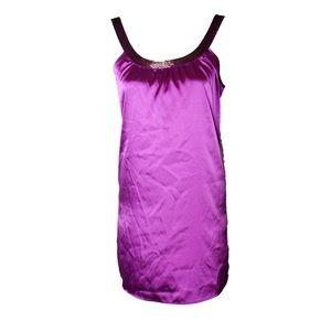 Women's Dress Purple Small Open Back Arden B Mini